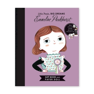 Little People, Big Dreams - Emmeline Pankhurst Paper Doll