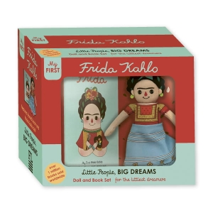 Little People, Big Dreams - Frida Kahlo Deluxe Doll and Book set
