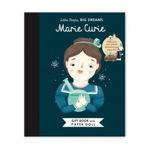 Little People, Big Dreams - Marie Curie Paper Doll